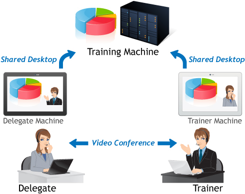 Description of Instructor-led Online Training Courses